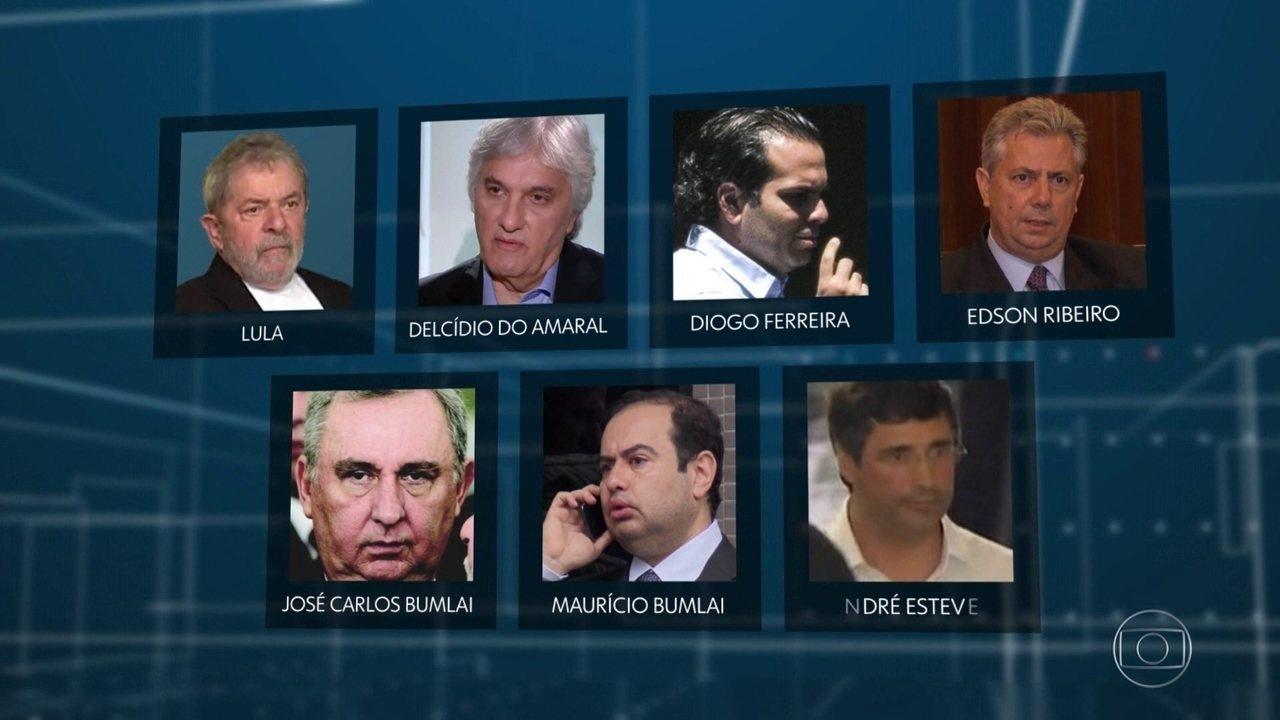 Justiça absolve Lula, Delcídio do Amaral, o banqueiro André Esteves e mais três