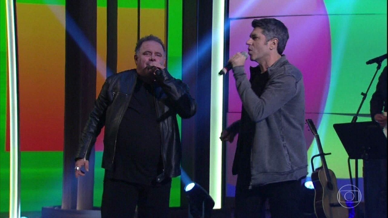 Leo Jaime e Leoni cantam 'A Fórmula do Amor'