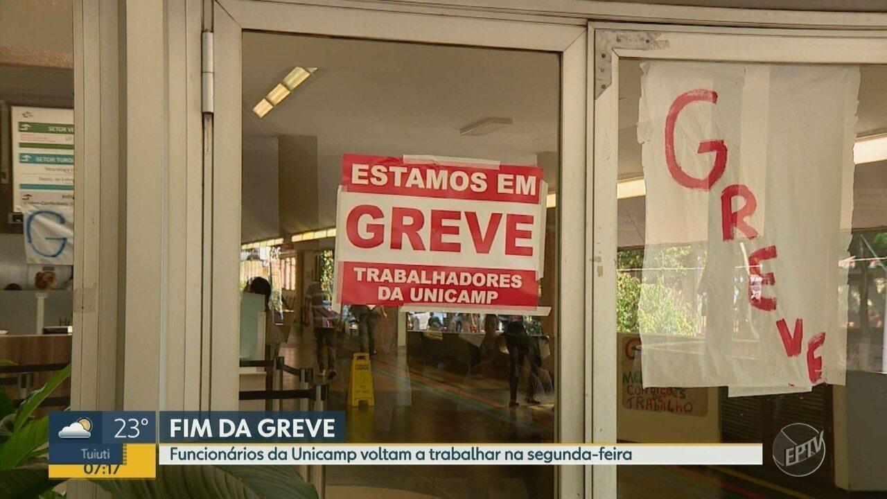 Trabalhadores da Unicamp que estavam em greve voltam a trabalho dia 16