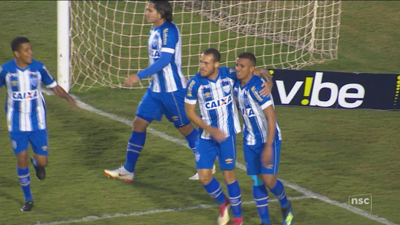Avaí vence o Londrina por 2 a 1 e assume a vice-liderança da Série B