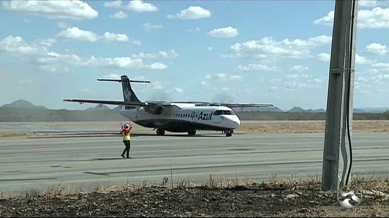 Aeroporto de Serra Talhada recebe 'voo experimental' - G1 Caruaru e Região  - ABTV 1ª Edição - Catálogo de Vídeos - Catálogo de Vídeos