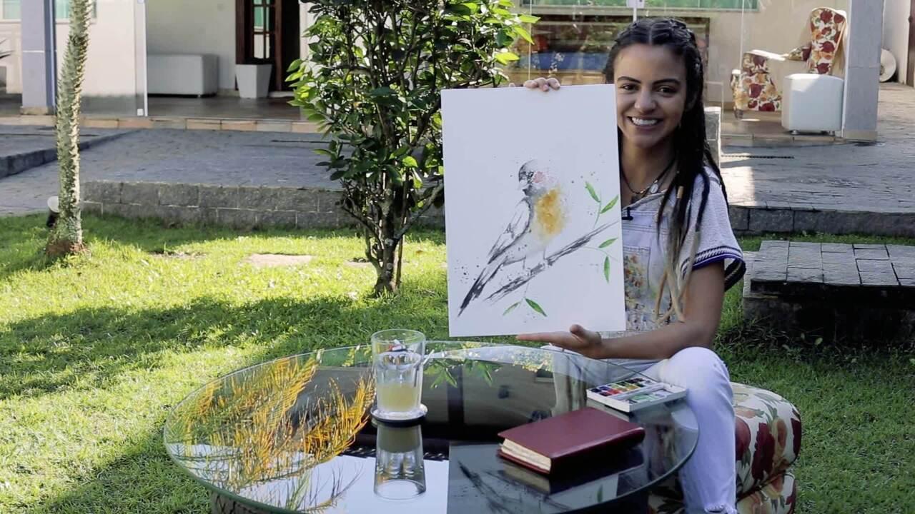Pally Siqueira conta como começou a carreira, fala de Amanda e de amor