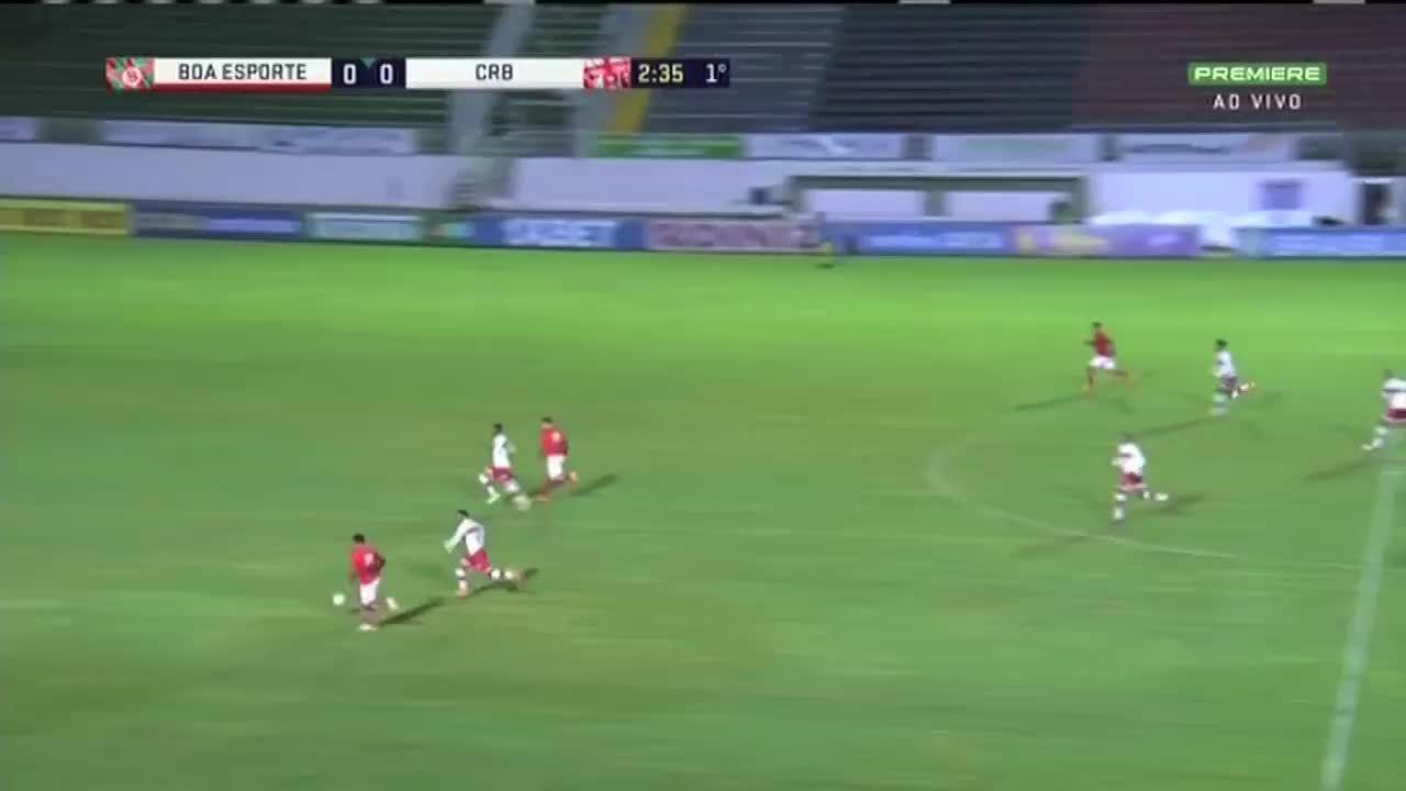 Os melhores momentos Boa Esporte 0 x 1 CRB, pela 15ª rodada da Série B