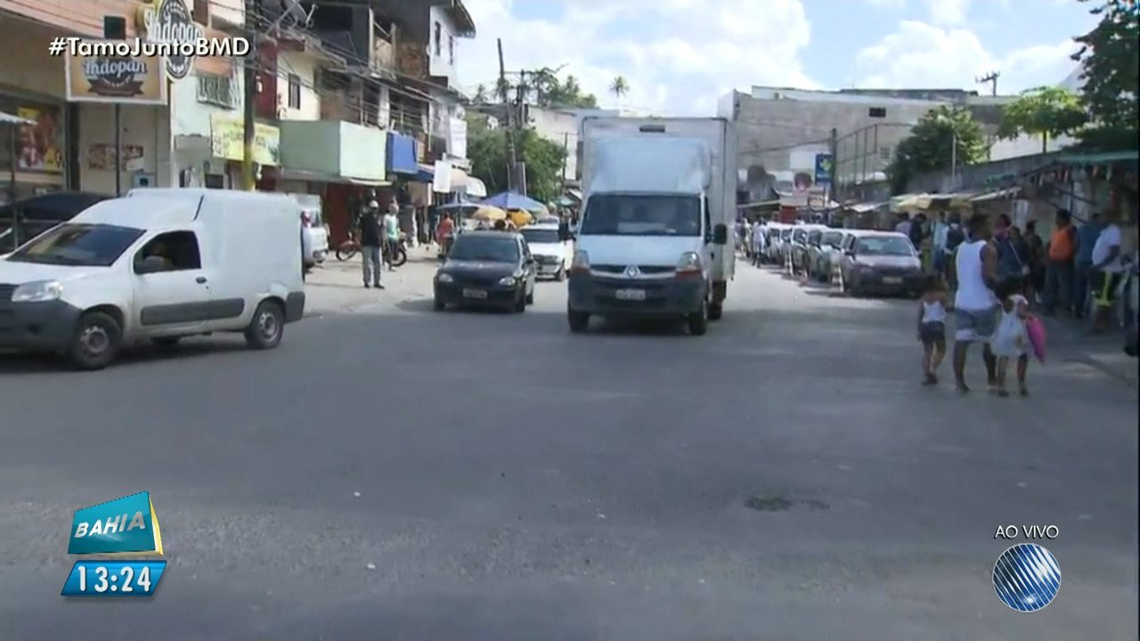 Avenida Aliomar Baleeiro tem mudanças de trânsito a partir deste sábado (14)