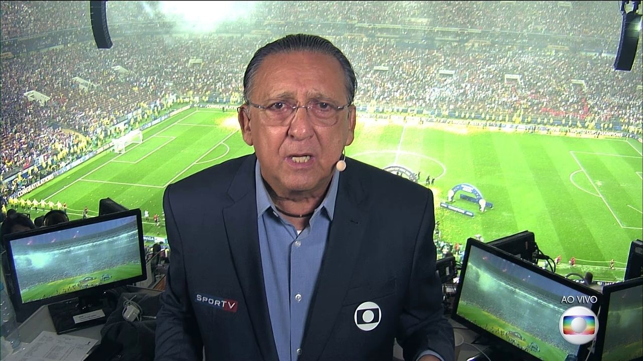 Galvão Bueno deixa futuro em aberto e diz que pode ter sido a última Copa como narrador