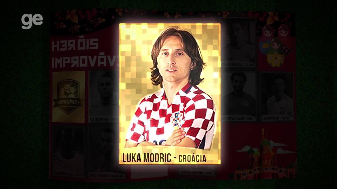 Herói improvável! Modric é eleito melhor jogador da Copa e vira figurinha brilhante