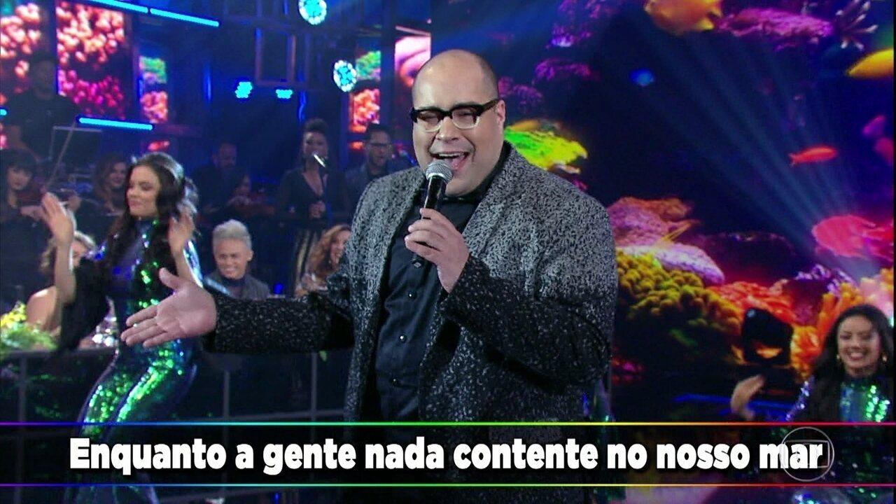 """Tiago Abravanel canta """"No Nosso Mar"""""""