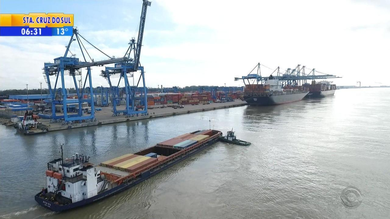 Porto de Rio Grande tem queda de movimento no primeiro semestre de 2018