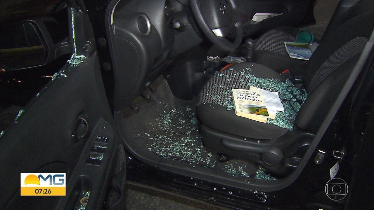 Quatro adolescentes suspeitos de roubar carro são baleados pela PM na Pampulha, em BH