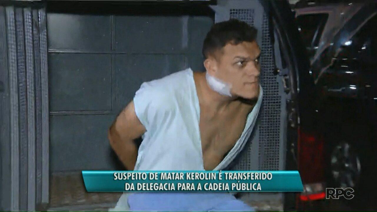 Suspeito de matar a ex-namorada é transferido da delegacia para a cadeia pública