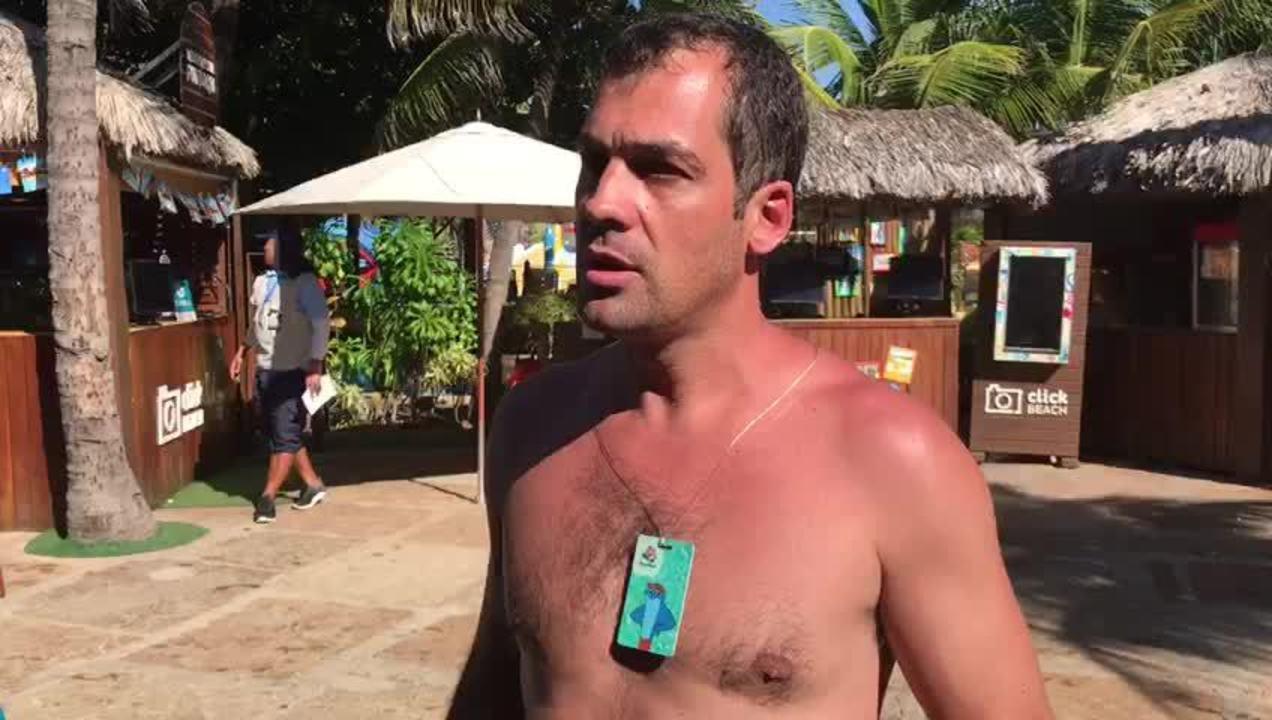Turista relata acidente no Beach Park na Grande Fortaleza