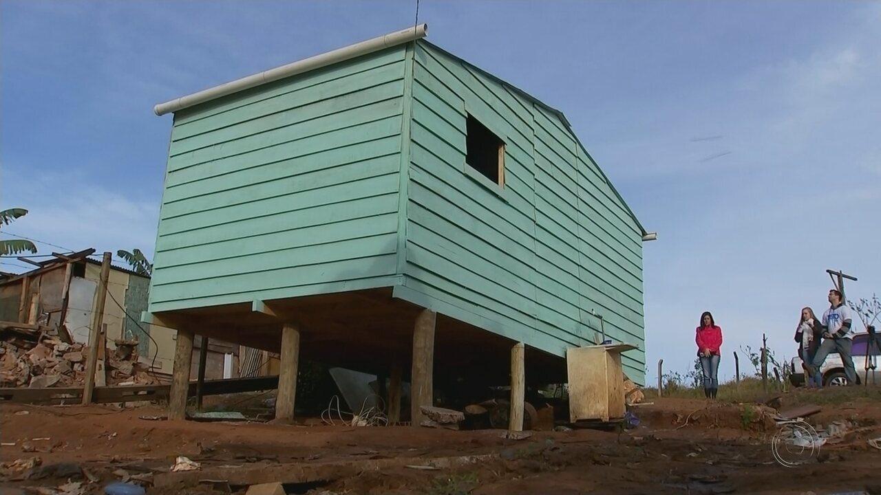 Projeto em Bauru garante casas construídas em seis dias a famílias em situação de risco