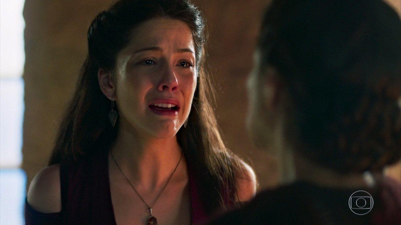Mulher revela para Brice que sua filha é Catarina