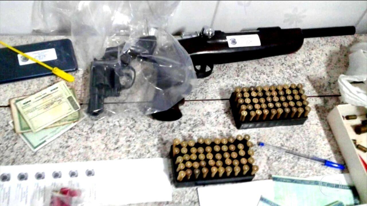 PF prende 32 pessoas integrantes de uma quadrilha de roubo de cargas no Sudeste e Nordeste