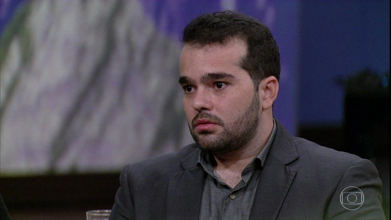 Guilherme Viñe conta como reencontrou Letícia