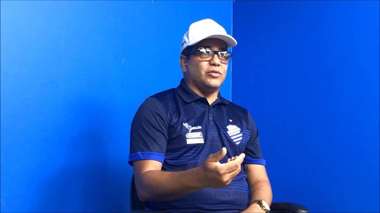 Brilho coletivo: Marcelo Cabo diz que no CSA não existe protagonismo