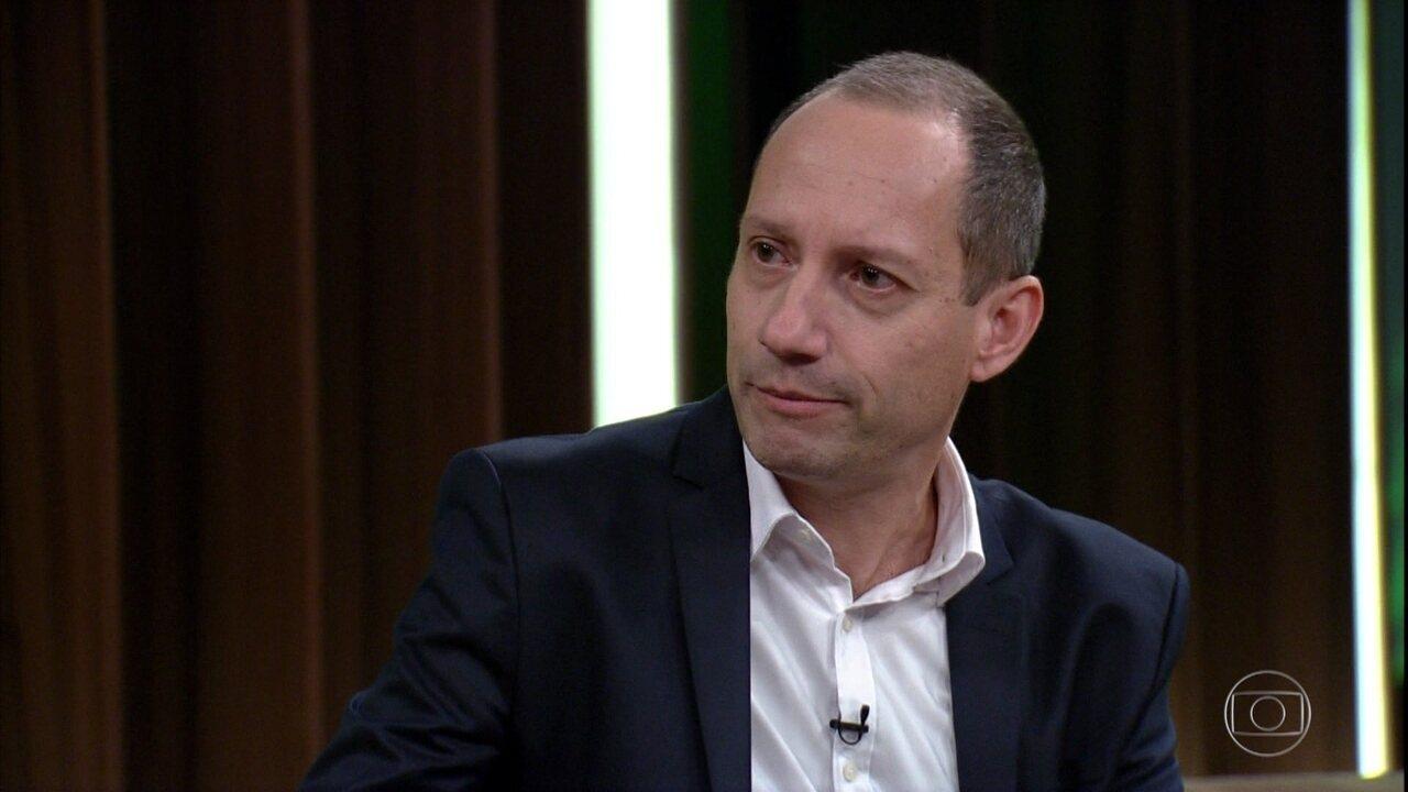 Stevens Rehen explica que não existe caso de overdose de maconha registrado pela medicina