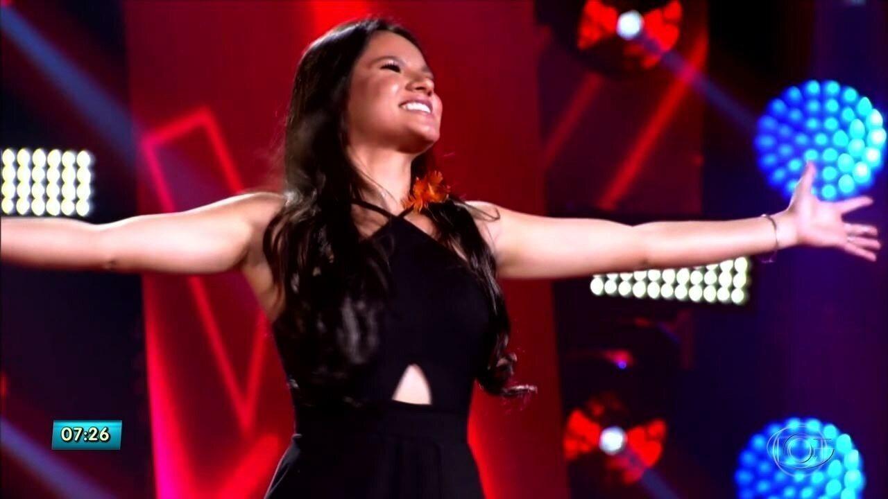 Alagoana Samara Souto é escolhida por Michel Teló para nova fase do The Voice Brasil
