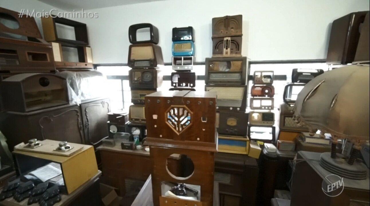 Colecionando: Conheça um locutor que possui mais de 500 rádios antigos