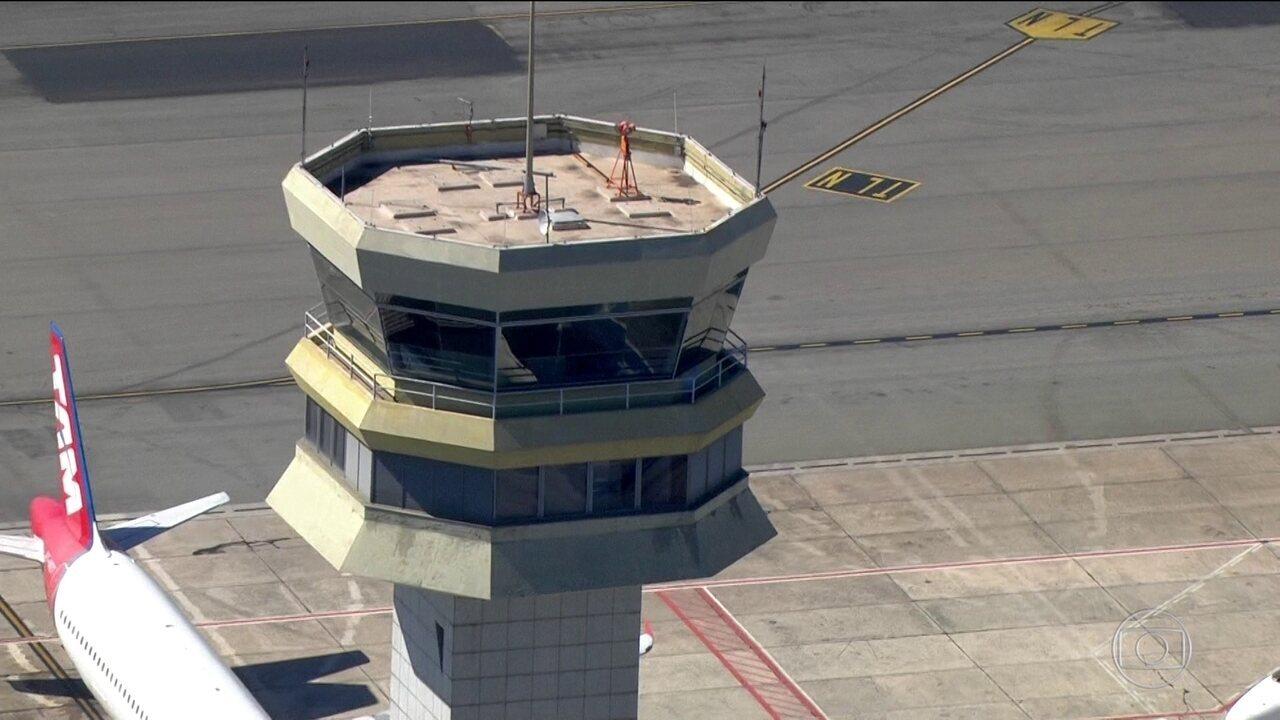Instabilidade no sinal do radar faz Congonhas suspender voos