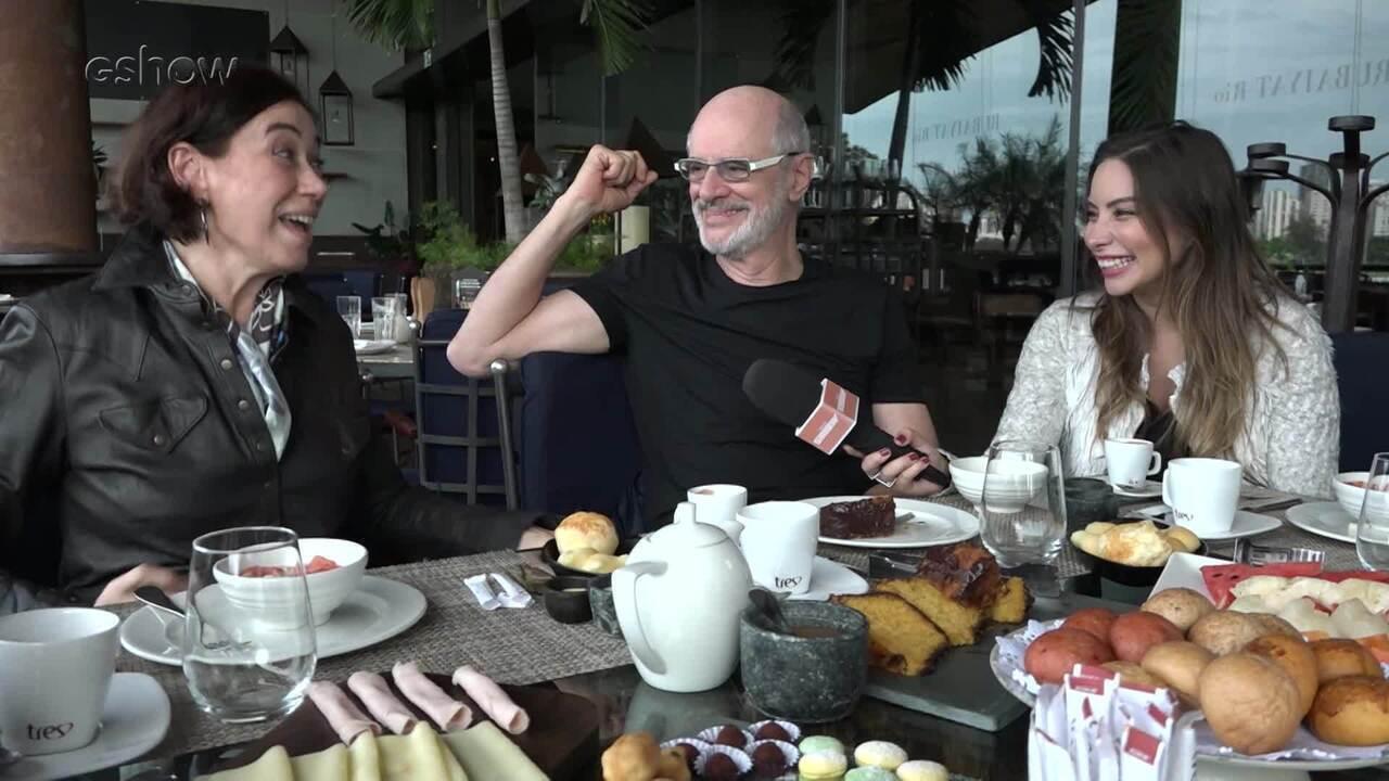 Assista ao vídeo extra do 'Reencontro Marcado' entre Lilia Cabral e Marcos Caruso