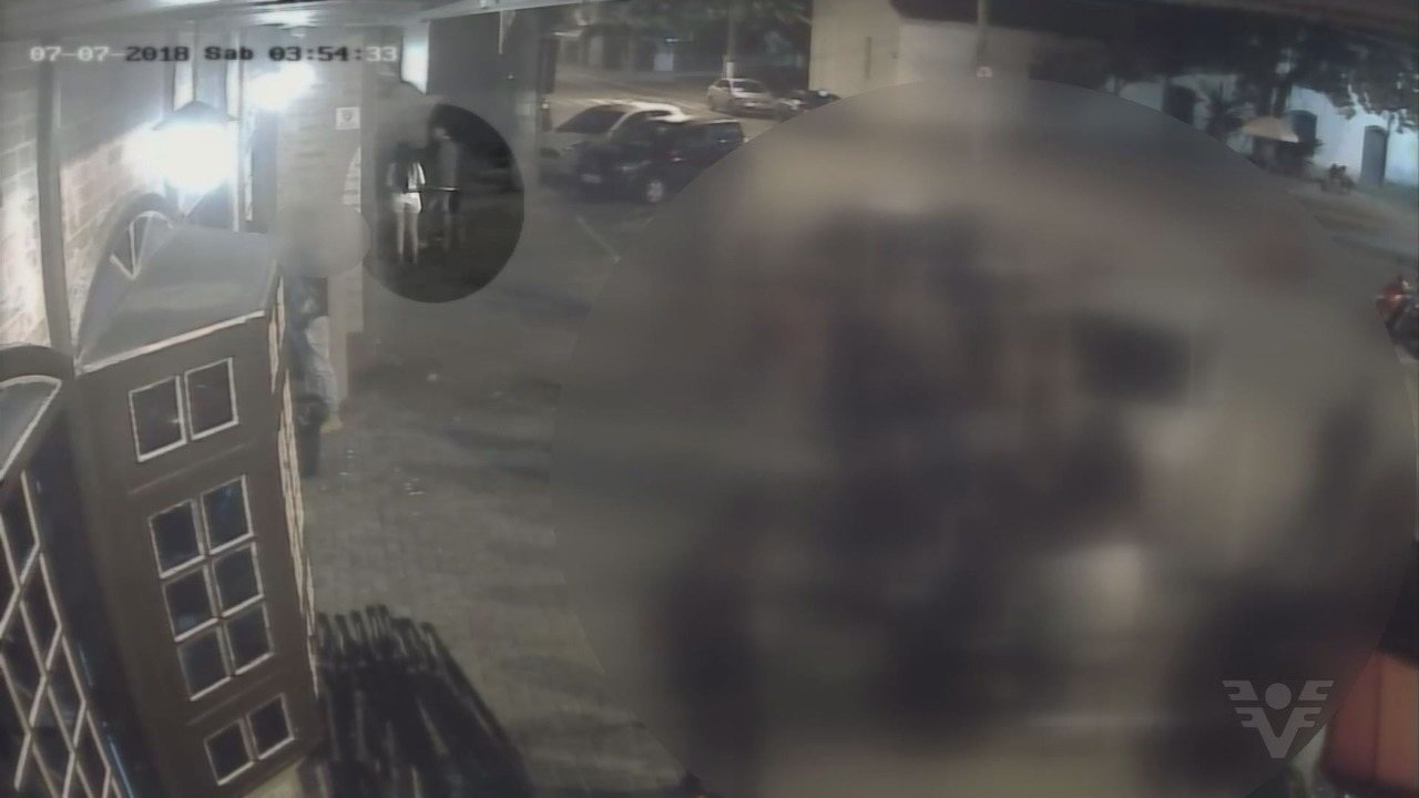 Imagens auxiliaram polícia a prender dupla suspeita em Itanhaém, SP