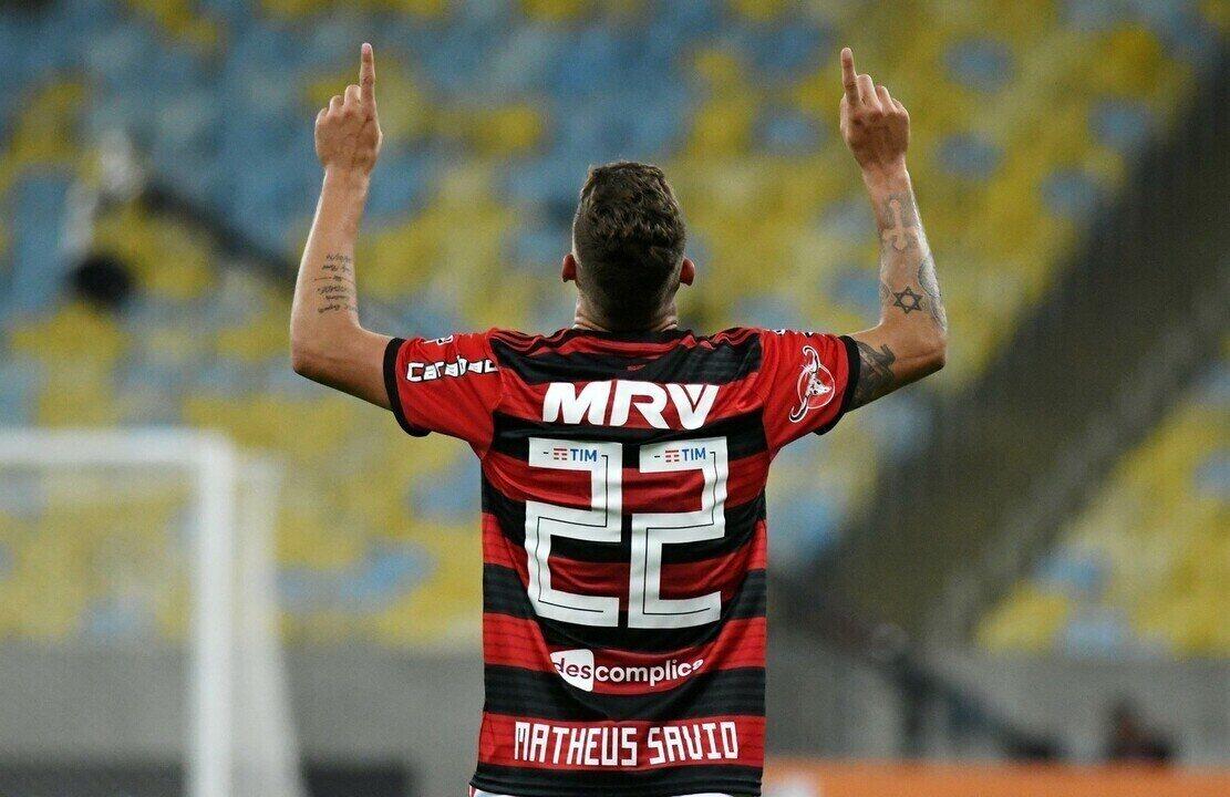 Confira os gols de Matheus Sávio com a camisa do Flamengo
