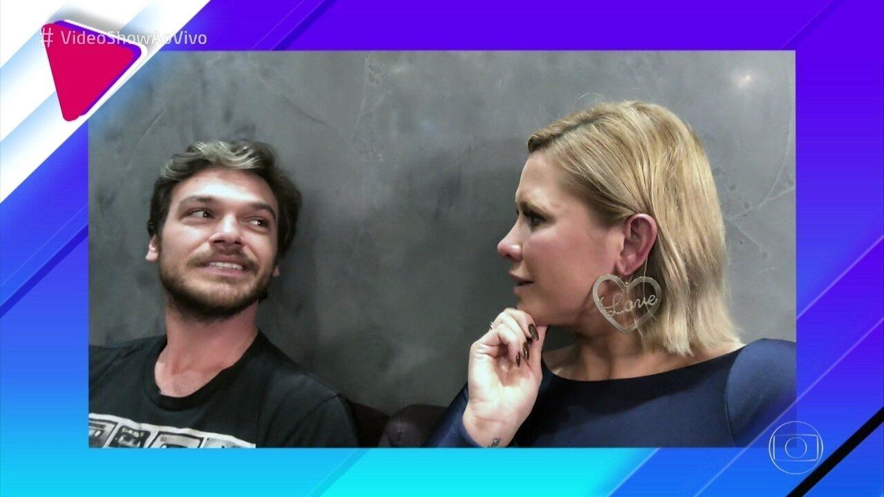 Emilio Dantas revela como foi o início do romance com Fabíula Nascimento