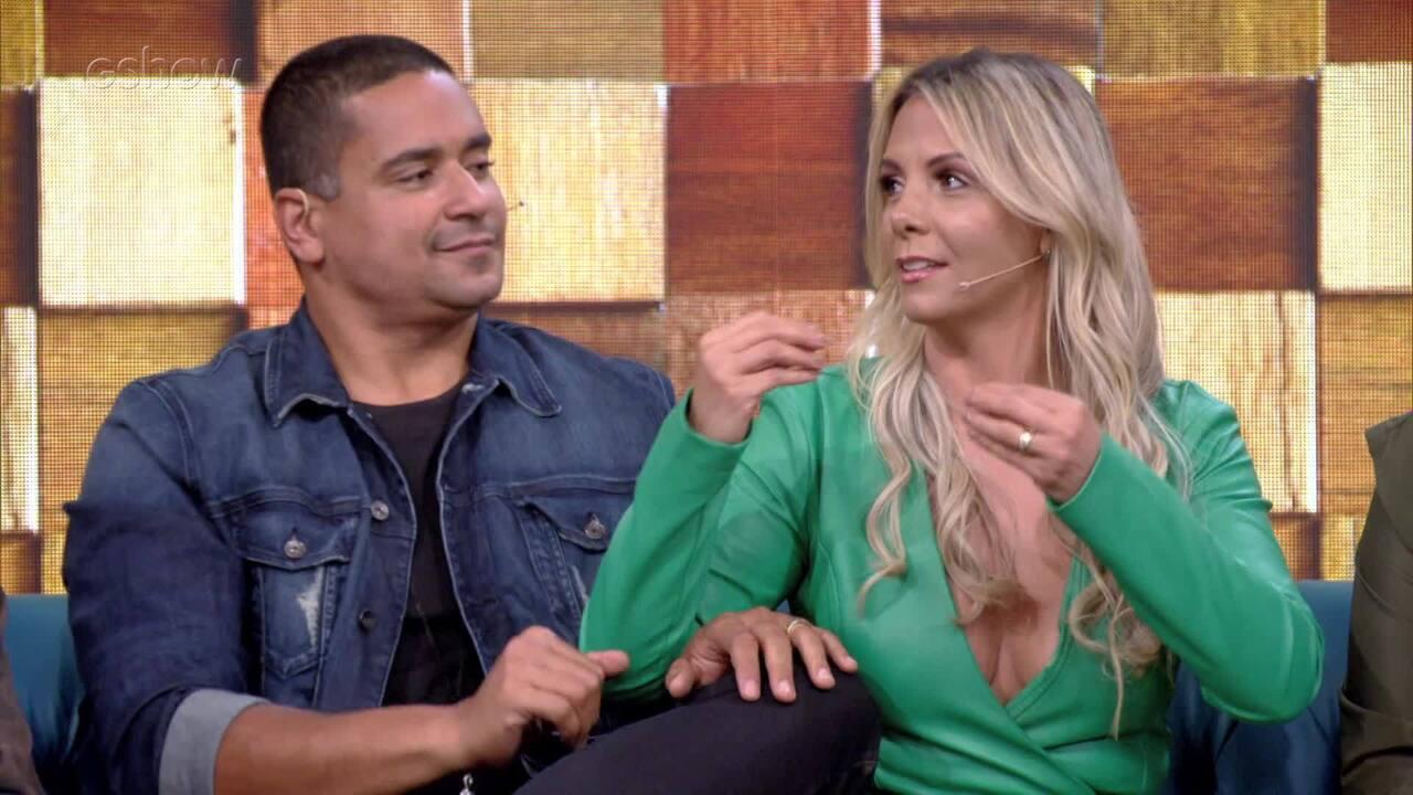Carla Perez conta história de quando perdeu sua aliança