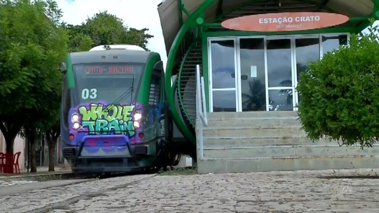 Passageiros reclamam do VLT do Cariri - G1 Ceará - CETV 2ª Edição -  Catálogo de Vídeos