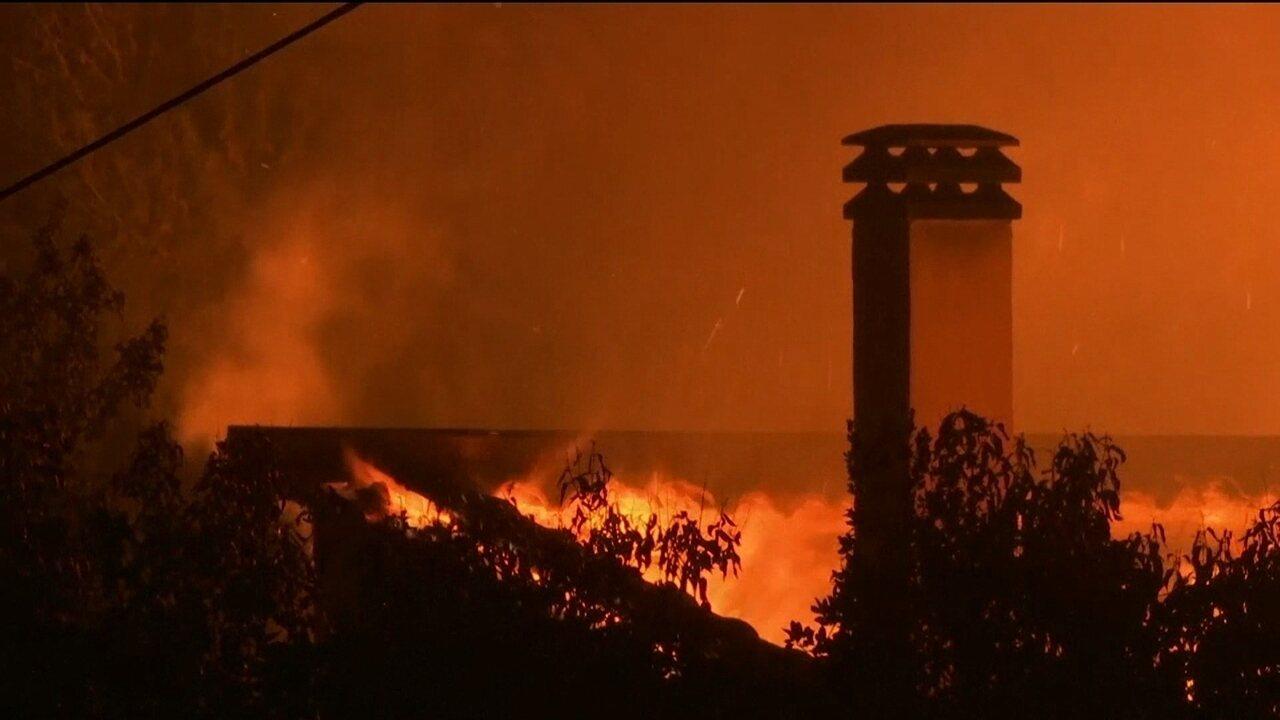 Sobe para 80 o número de mortos em incêndio florestal