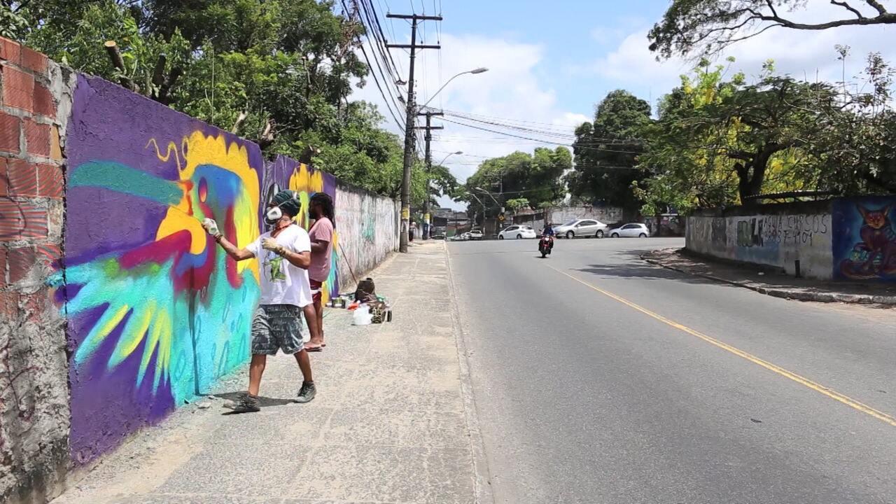 Eder Muniz fala sobre o intercâmbio de grafiteiros entre Bahia e Angola