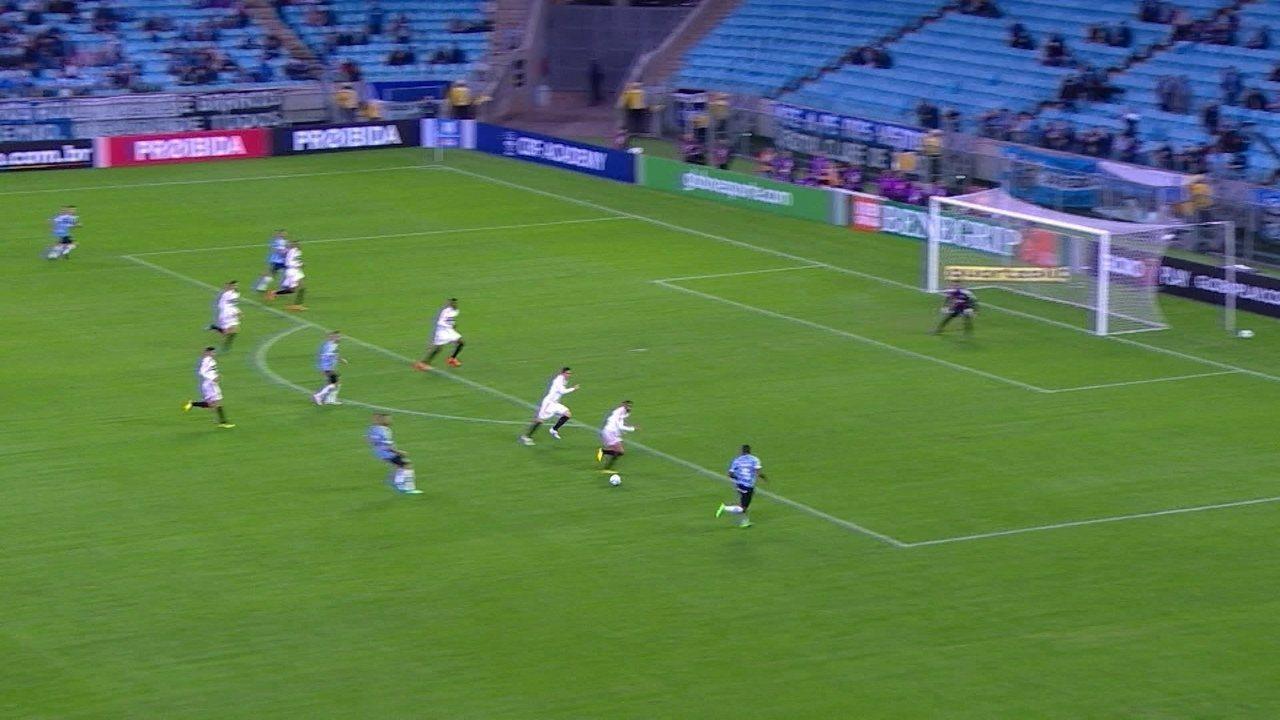 Melhores momentos: Grêmio 2 x 1 São Paulo pela 15ª rodada do Brasileirão 2018