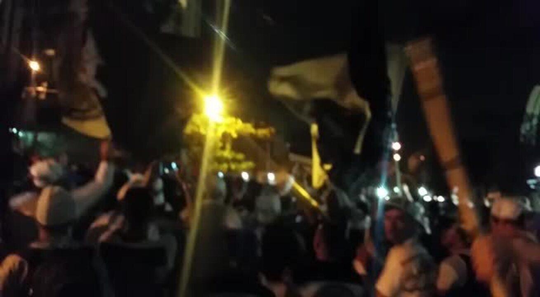 Torcidas organizadas protestam contra a diretoria do Corinthians no Parque São Jorge