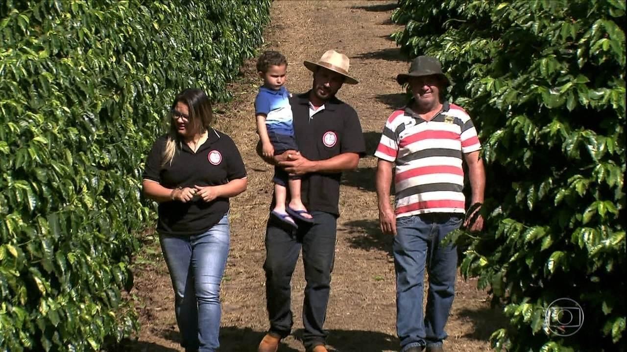 Família transforma sítio produtor de café em propriedade moderna e lucrativa