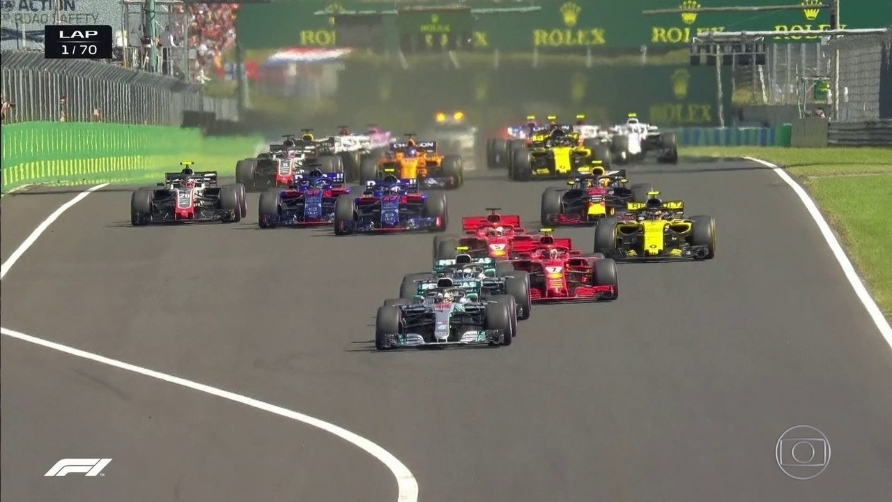 Melhores mormentos do GP da Hungria de Fórmula 1