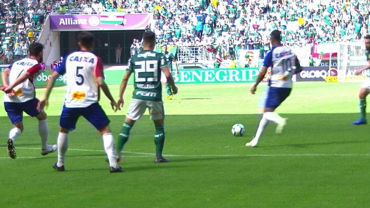 6ca5616c4db01 Melhores momentos de Palmeiras 3 x 0 Paraná pela 16ª rodada do Brasileirão