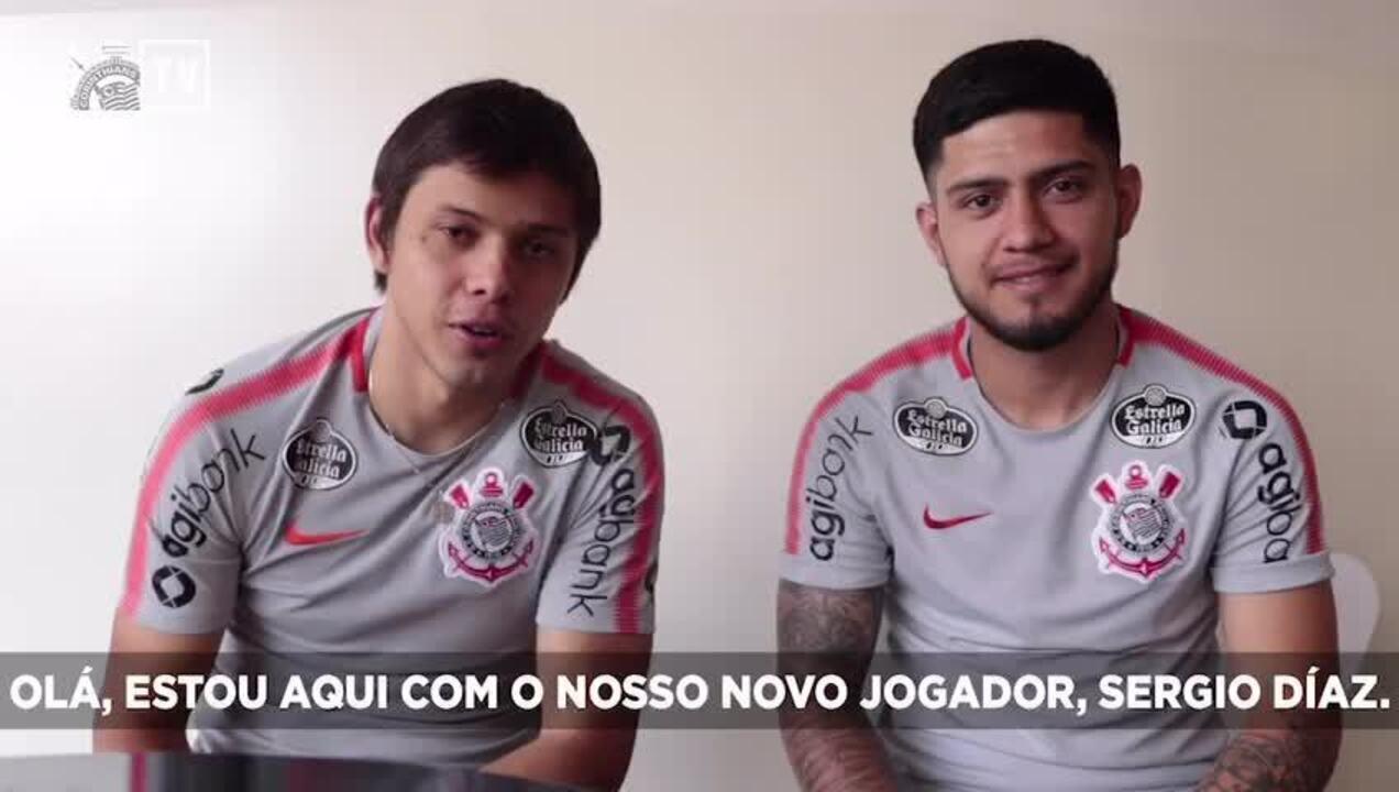Romero anuncia a contratação de Sergio Díaz pelo Corinthians