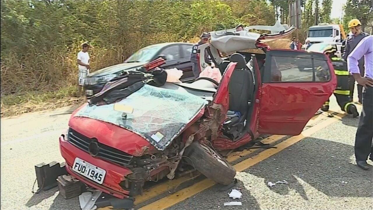 Moradores de Boituva morrem em acidente em Sabará