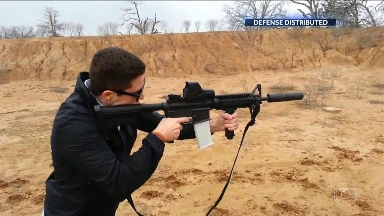 Juiz bloqueia divulgação de arquivo usado na fabricação de armas em impressoras 3D