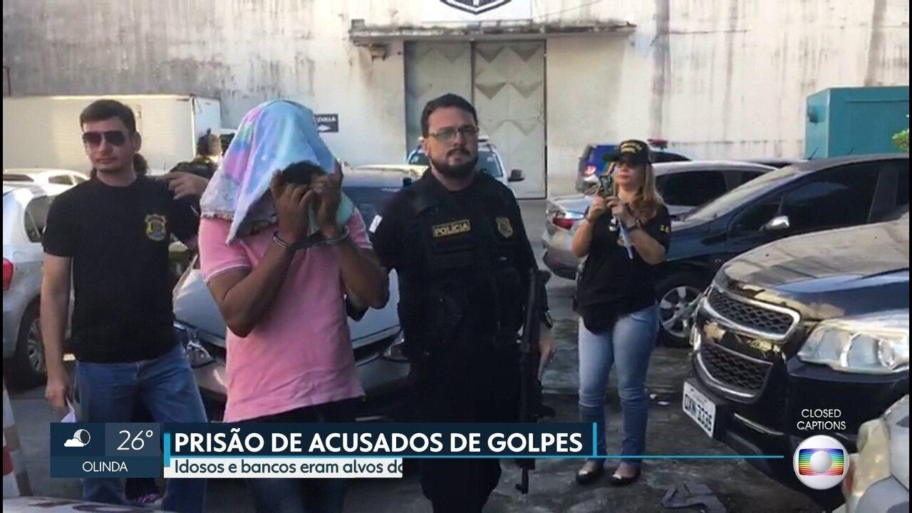 Polícia prende suspeitos de estelionato, corrupção e lavagem de dinheiro em Pernambuco