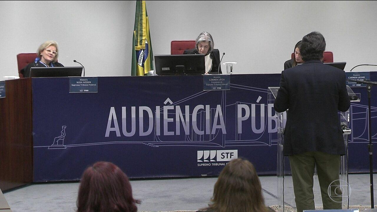 Supremo tem audiência pública sobre a descriminalização do aborto