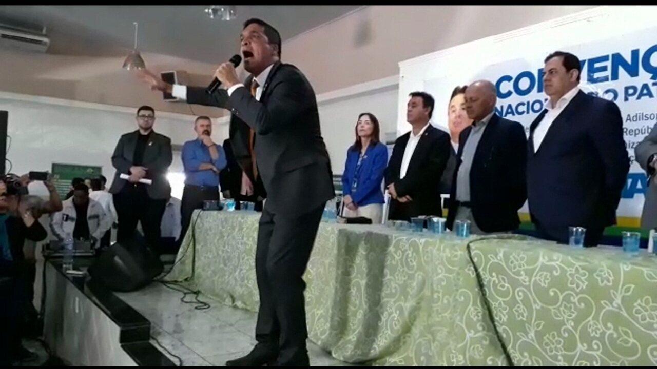 Cabo Daciolo é confirmado como candidato à Presidência pelo Patriota