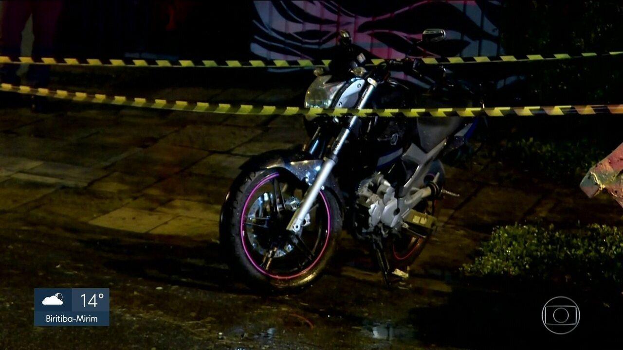 Polícia identifica homem que aparece com a moto da policial desaparecida em Paraisópolis