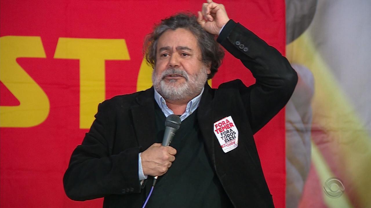 PSTU confirma candidatura de Júlio Flores ao governo do RS