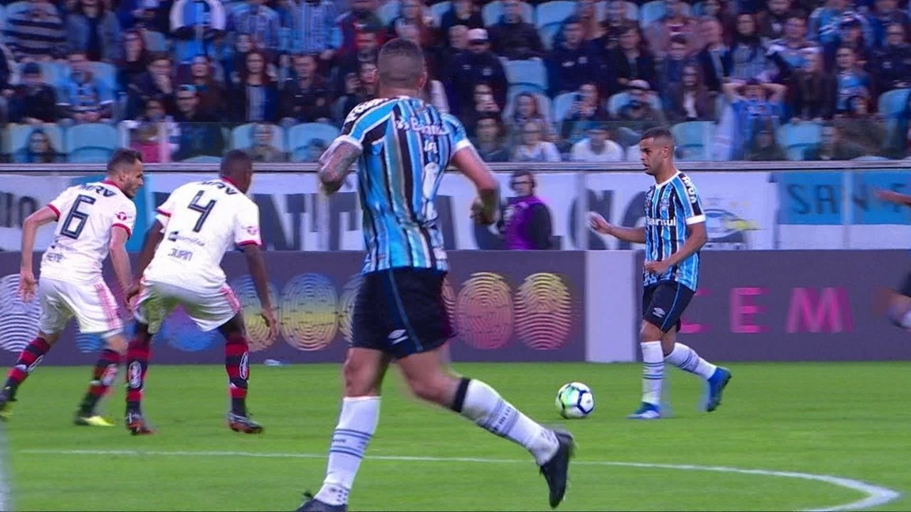 Melhores momentos de Grêmio 2 x 0 Flamengo pela 17ª rodada do Campeonato  Brasileiro f2fe5e6c2eb50
