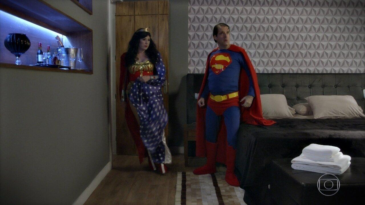 Fantasia de Super-Heróis