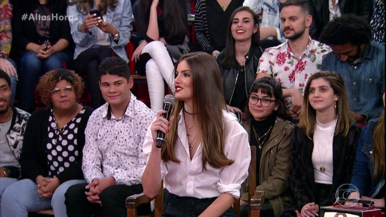 Camila Queiroz fala sobre o casamento