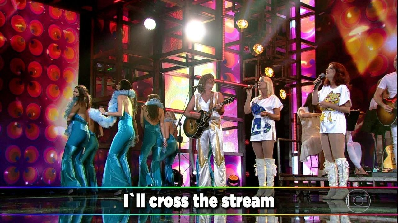 Abba – The Show canta 'I Have a Dream'