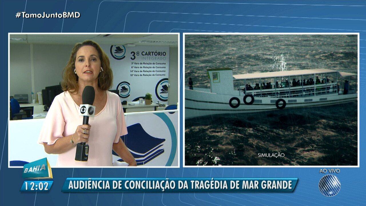 Tragédia em Mar Grande: audiência de conciliação acontece nesta segunda-feira (6)